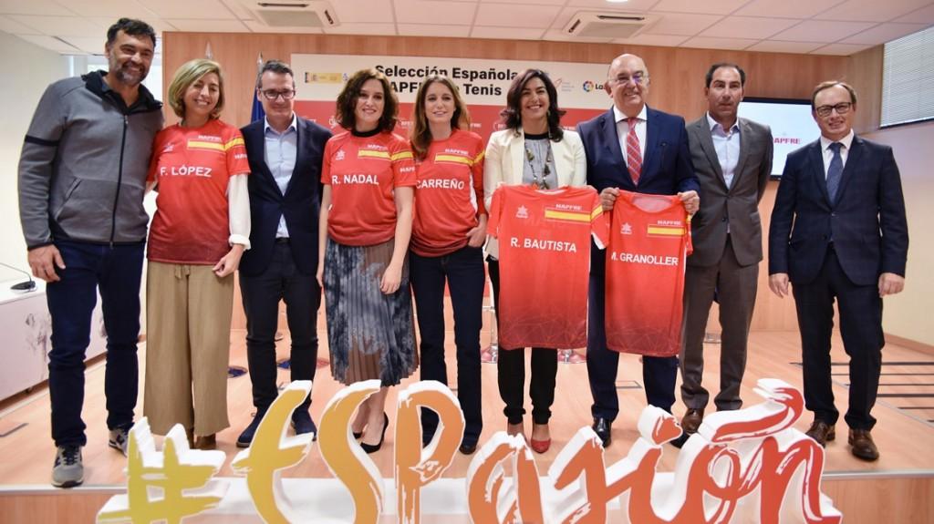 Joaquin Molpeceres Sanchez Rafael Nadal Copa Davis