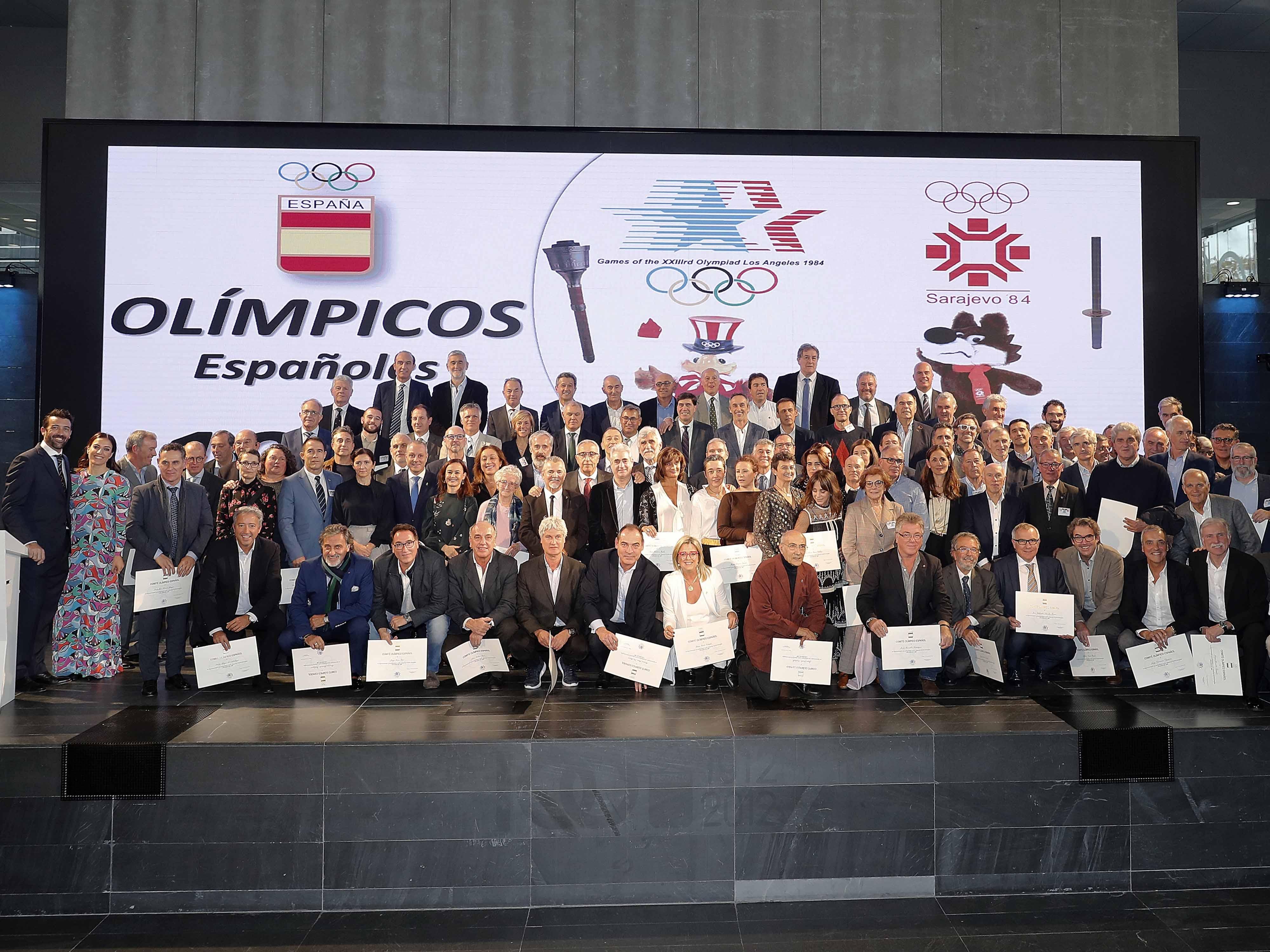 Joaquín Molpeceres COE Juegos Olímpicos de Los Angeles y Sarajevo 1984
