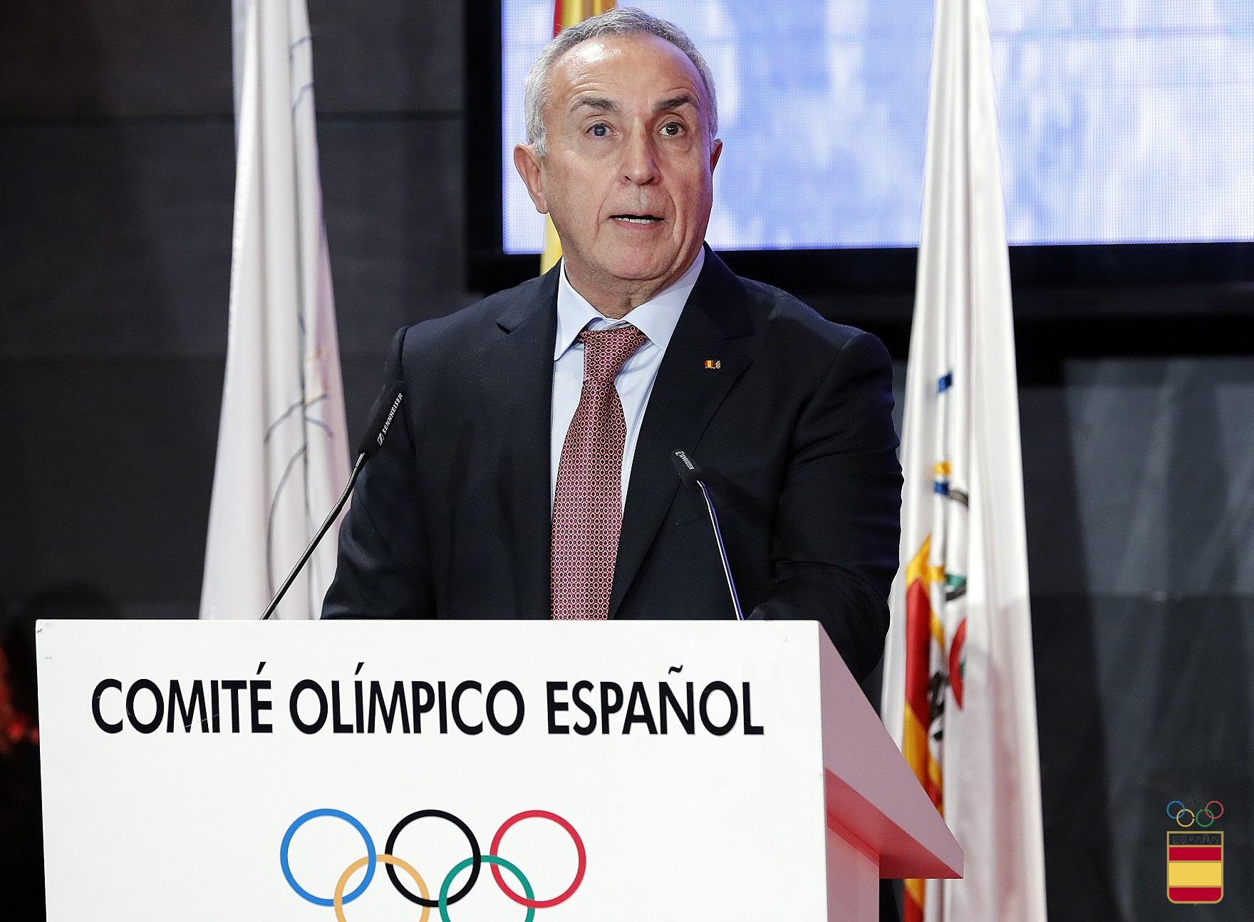 Joaquin Molpeceres XIV Gala Anual del Comité Olímpico Español