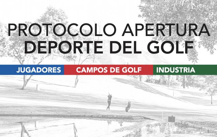 Protocolo apertura campos de golf COVID19 Joaquin Molpeceres Sanchez Encin Golf Olivar