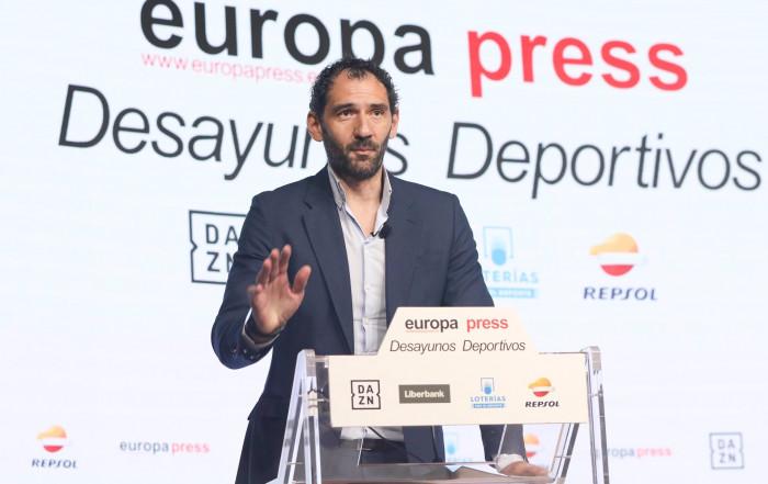 Jorge Garbajosa Desayunos Europa Press Joaquin Molpeceres Sanchez