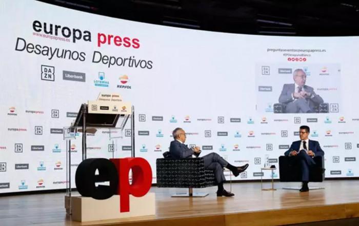 Joaquin Molpeceres Sanchez Desayunos Deportivos Europa Press Alejandro Blanco 11