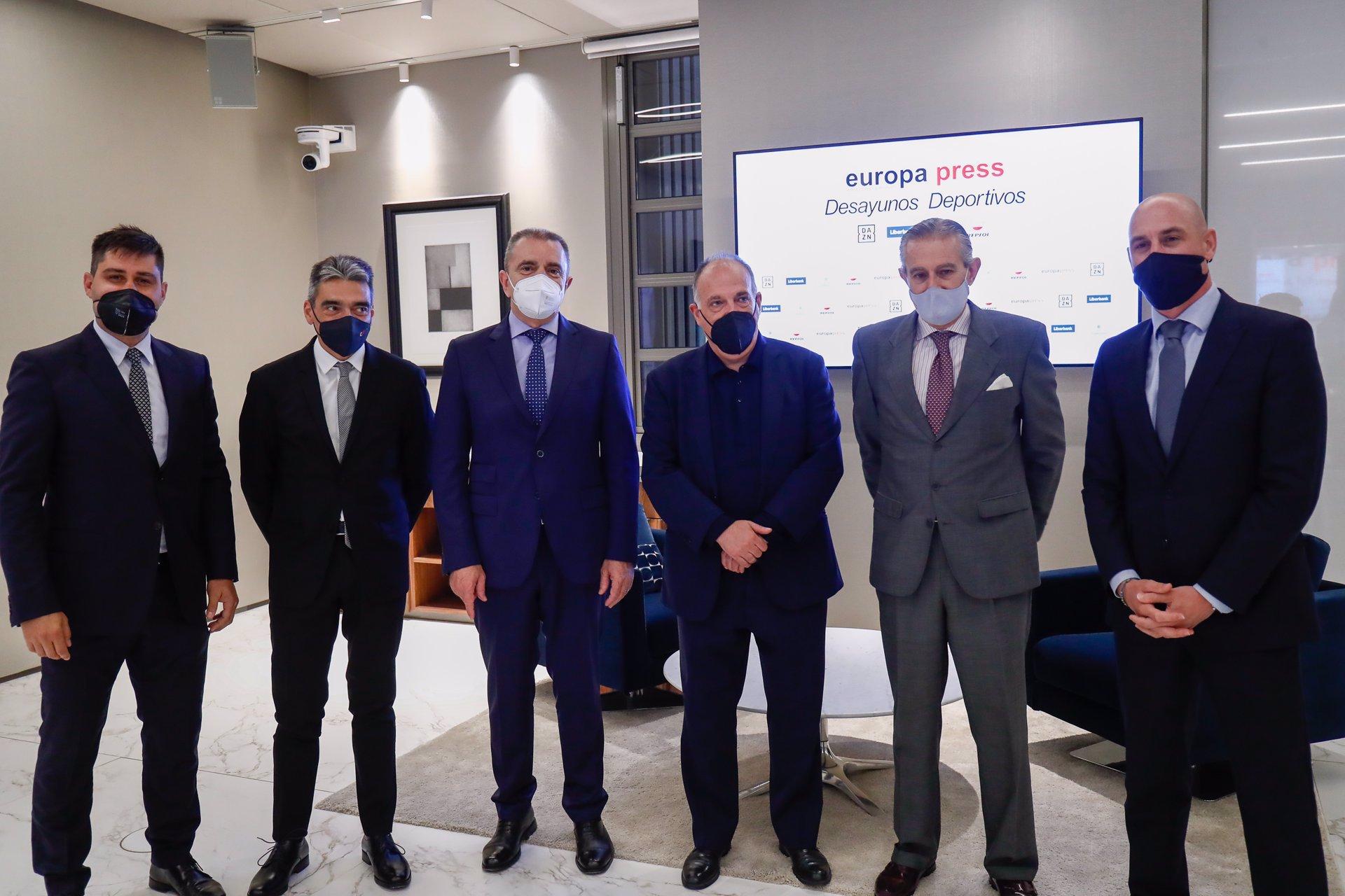 Joaquin Molpeceres Sanchez Desayunos Deportivos Europa Press JOse Manuel Franco 3